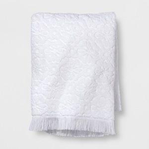 Opalhouse target floral fringe bath &hand towels